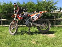 ktm sxf 250 2017 low hours in pontllanfraith caerphilly gumtree