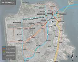 Bart Lines Map by Regional Rail For The Sf Bay Area Two New Transbay Crossings