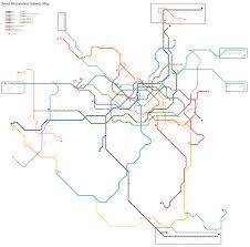Seoul Subway Map by Seoul South Korea Metasub