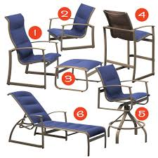 Tropitone Patio Chairs by Mountain Home Style
