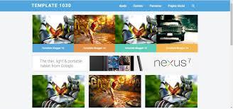 mais template template galeria blogger gratis