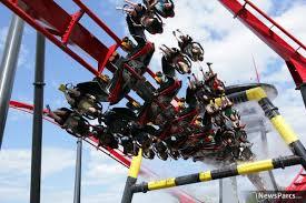 X Flight At Six Flags Newsparcs How Bolliger U0026 Mabillard Established Its Strong