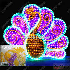 30 led peacock animal decoration lights