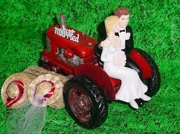 tractor wedding cake topper farm wedding cake toppers wedding corners