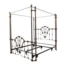 Metal Canopy Bed by 60 Off Bronze Metal Canopy Queen Bed Frame Beds