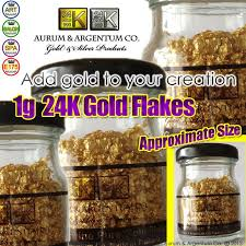 where to buy edible gold leaf 24k gold flakes in glass bottle 1g real gold edible gold