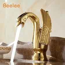 Swan Faucet Gold Bathroom Fixtures 1 Newportengineer Com