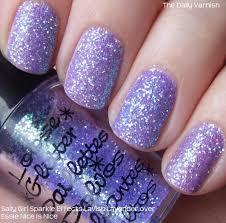 stronger glitter nail polish the daily nail pinterest