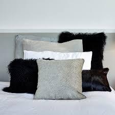 Mongolian Lamb Cushion Mongolian Sheepskin Cushions Hides Of Excellence