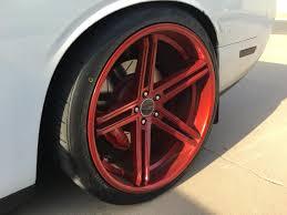 Dodge Challenger Tire Size - dodge challenger custom wheels lorenzo 22x9 5 et tire size
