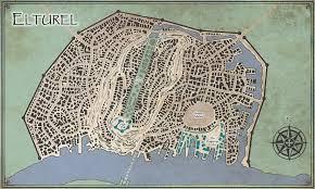 Map Of Faerun Elturel Heart Of The Realms Obsidian Portal