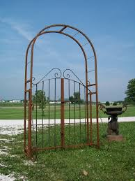 wrought iron trellis gate gardening pinterest wrought iron