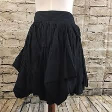 cotton skirts all saints dresses skirts all saints black lorinna cotton
