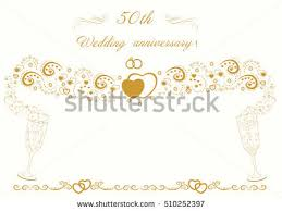 golden wedding anniversary 50th wedding anniversary stock images royalty free images
