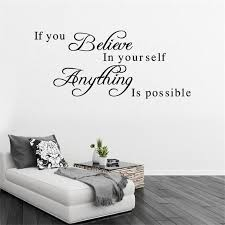 living room inspirational english sayings wall stickers english