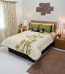 Olive Bedding Sets Olive Green Beige Leaves Comforter Bedding Set