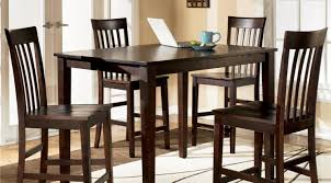 dining room high dining room table sets stunning high dining