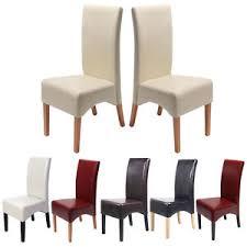 sedie per sala pranzo set 2x sedie pelle per sala da pranzo 102x44x44cm colore a