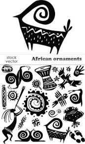 flexistamps texture sheet set african symbol designs including