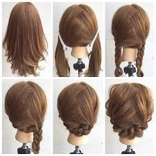easy sexy updos for shoulder length hair ideas and decor hair ideas pinterest hair style makeup and