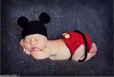 baby boy photo props handmade newborn baby boy mickey mouse crochet photo props