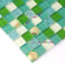 aliexpress com buy green wall tile kitchen backsplash ocean blue