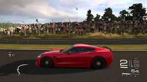 2014 corvette stingray z51 top speed forza 5 c7 corvette stingray top speed run review