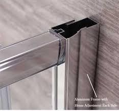 shower doors parts u0026 semi frameless contemporary pivot shower door