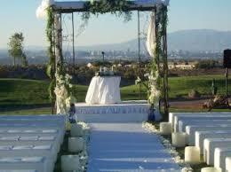 wedding arch las vegas las vegas outdoor wedding