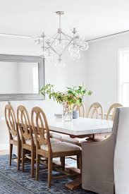 42 best dining room images on pinterest circa lighting dining bistro four arm chandelier by ian k fowler in polished nickel with clear glass neutral dining roomsmodern