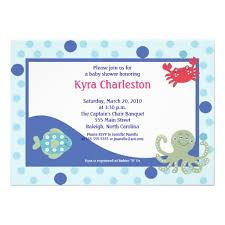 the sea baby shower invitations baby shower invitations chic the sea baby shower invites