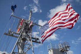 Battle Flag Battle Flag And Battle Ensign Fly On Masts U2013 Usa Flag Co