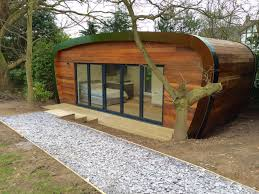 designer eco living pods for use as granny annexes granny flats
