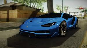 Lamborghini Centenario For Gta San Andreas
