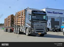 volvo big truck volvo fh16 750 woodpro timber image u0026 photo bigstock