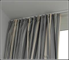 Curtain Rods Stylish Curtains On Ceiling Track Decor With Curtain Rods Ceiling