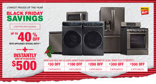 black friday appliances 2017 the home depot
