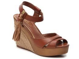 lauren ralph lauren gwen wedge sandal women u0027s shoes dsw