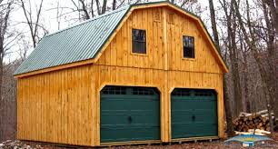 building a gambrel roof 2 story prefab garage prefabricated garage horizon structures
