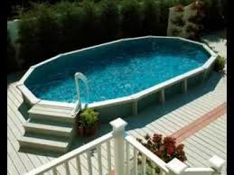 Above Ground Pool Design Ideas Above Ground Swimming Pool Deck Design Ideas Youtube