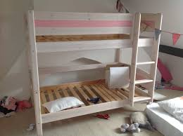 Thuka Bunk Beds White Shortie Bunk Beds Childrens Beds Sleepland Beds Dreamaway