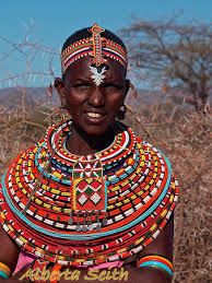 tribal dress alberta seith photography of africa samburu woman in