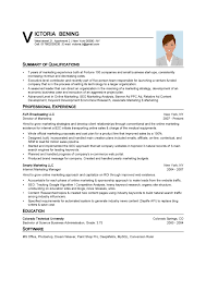 simple format of resume marketing resumes digital marketing director resume simple