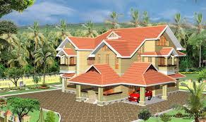 home exterior design in elegant style kerala home exterior design home