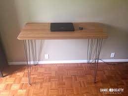 Adjustable Height Desks Ikea by Bamboo And Steel Ikea Hilver Standing Desk Ikea Hackers Ikea