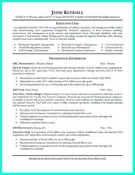 Sample Chef Resume by Assistant Chef Resume Objective