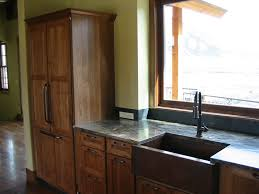 Rustic Hickory Kitchen Cabinets by Rustic Hickory Cabinets Chestnut Stain Wyman Woodworks