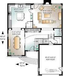 5 Level Split Floor Plans House Plan W3444 Detail From Drummondhouseplans Com