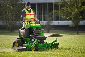 redesigned john deere quiktrak stands the commercial mower test