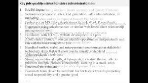 Wedding Coordinator Job Description Sales Administrator Job Description Youtube